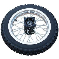 "12"" Rear Tire Wheel Assembly for 110cc 125 cc 150cc Dirt Bik"