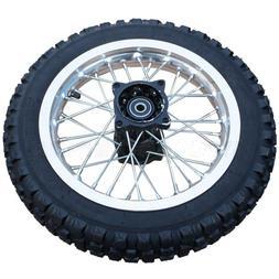 "12"" Rear Tire Wheel Assembly for 110cc 125 cc 150cc Dirt Bik"