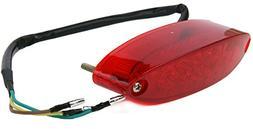 12V Red 28LED Brake Tail License Plate Integrated Light For