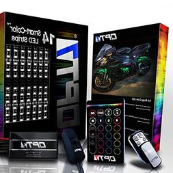 14pc Aura Motorcycle LED Light Kit | Multi-Color Accent Glow