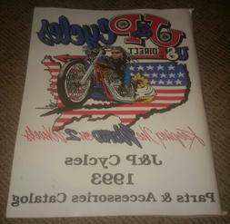 1993 J & P Cycles PARTS/ACCESSORIES Catalog HARLEY DAVIDSON