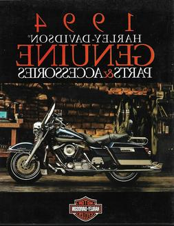 1994 - Harley Davidson Genuine Parts & Accessories Catalog -
