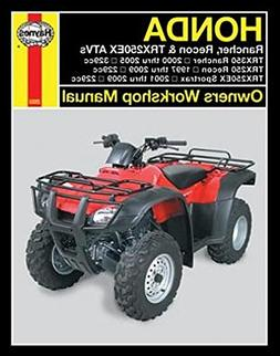 1997-2009 Honda Rancher Recon Sportrax TRX 250 350 Quad ATV