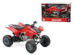 2009 Honda TRX 450R Red ATV 1:12 Diecast Model - 57093A