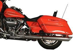 2017-up Harley-Davidson Chrome Slash Cut Slip-on Mufflers