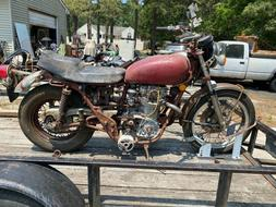 650 Yamaha motorcycle parts or repair only