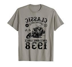 80th Birthday T-Shirt 80 Years Old Birthday Gift Classic Tee