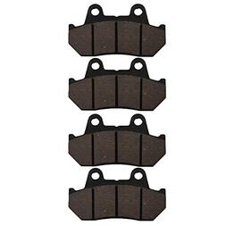 AHL Semi-metallic Brake Pads Set for Honda VT1100 C Shadow 1