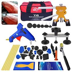 AUTOPDR 40pcs DIY Paintless Dent Removal Tool Kit for Automo
