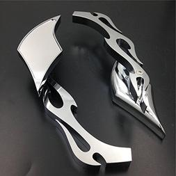 Alloy TWIST DIAMOND Custom Mirror Suzuki GSXR600 750 1000 11