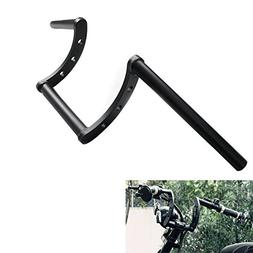 "Alpha Rider Black Drag Handlebar 1"" 25MM Z Bar For Honda Sha"