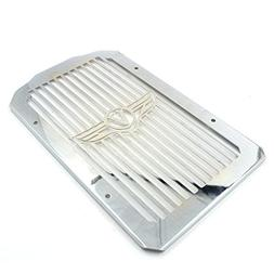 Alpha Rider Motorcycle Stainless Radiator Cover Grill Guard