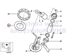 BMW Genuine Motorcycle Fuel Pump/Fuel Filter Gasket D=99MM K