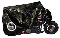 Breathable Motorcycle Cover W/elastic Bottom. Premium Heavy
