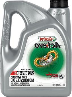 Castrol 03130 Actevo 10W-40 Part Synthetic 4T Motorcycle Oil
