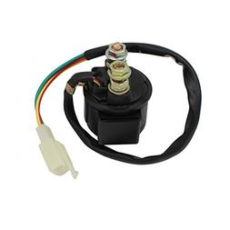 Cyleto Motorcycle Parts Starter Solenoid Relay for 4-Stroke