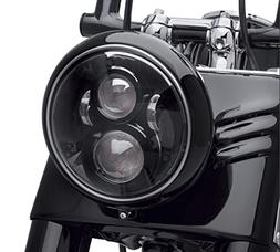 Dot Approved 7Inch Black LED Headlight for Harley Motorcycle