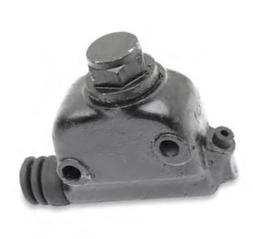 Eastern Motorcycle Parts Rear Master Cylinder Assembly - Bla