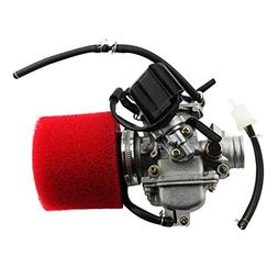 GOOFIT PD24J Carburetor with Air Filter for GY6 125cc 150cc