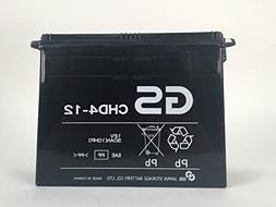 GS BATTERY - GS CHD4-12 with Acid Pack – High Performance