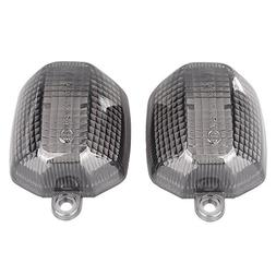 GZYF Front Turn Signals Lens Smoke Fit FZ1 1998-2004 R6 1998