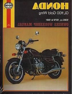 HAYNES 1979-1981 HONDA MOTORCYCLE GL1100 GOLD WING OWNERS SE