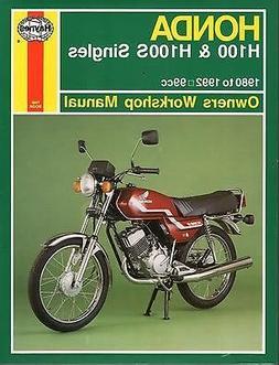 HAYNES 1980-1992 HONDA H100 & H100S SINGLES OWNERS SERVICE M