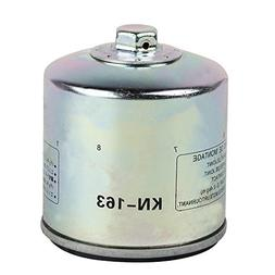 HIFROM Replace High Performance Oil Filter KN-163 HF163 for
