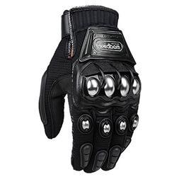 ILM Alloy Steel Outdoor Gloves Motorcycle Powersports Racing