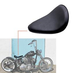 INNOGLOW Motorcycle Modify Black SOLO Seat Saddle For Harley