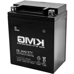 KMG YTX14AHL-BS Battery For Suzuki 650 GS650  1981-1983 Seal