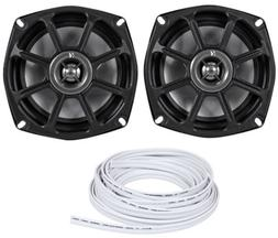 Kicker 10PS5250 5.25 Harley Davidson Motorcycle Speakers+Wat