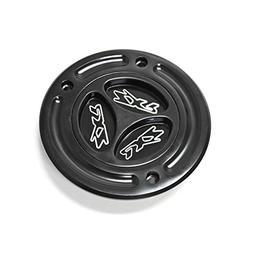 Krator Black Keyless Gas Cap Logo Twist Off Fuel Tank Cap Fo