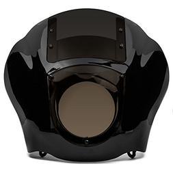 Krator NEW Black & Smoke Quarter Fairing Windshield Kit for