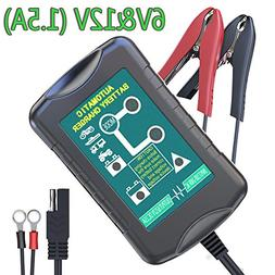 LST Trickle Battery Charger Automatic Maintainer 6V 12V Port