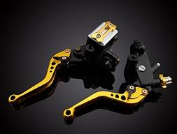 LUO Motorcycle Racing Parts CNC Billet Adjustable Reservoir