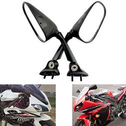 MZS Motorcycle Rear View Mirrors for Yamaha YZF R1 2009-2014