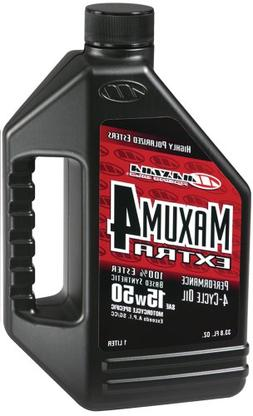 Maxima  Extra4 15W-50 Synthetic 4T Motorcycle Engine Oil - 1