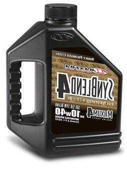 Maxima  Syn Blend4 10W-40 Motorcycle Engine Oil - 1 Gallon J