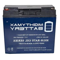 Mighty Max Battery 12V 22AH GEL Battery for BMW K1200LT K120