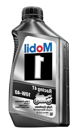 Mobil 1 98JA11 10W-40 Racing 4T Motorcycle Oil for Sport Bik