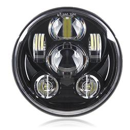 Motorcycle 5-3/4 5.75 LED Headlight for Harley Davidson 883,