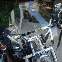 Motorcycle Clear Windscreen Windshield for Harley Davidson S