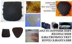 Motorcycle Driver & Passenger Seats Gel Pads Set for Yamaha