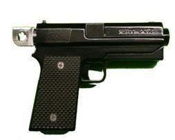 Motorcycle Foot Pegs by Sickshooter .45 Caliber Gun Foot Peg