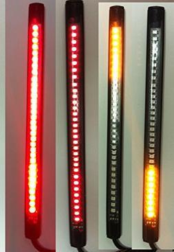 Motorcycle LED Turn Signal Tail Brake Integrated Light