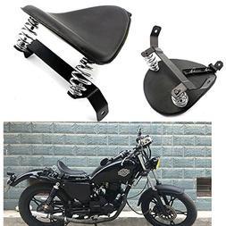 Motorcycle Modify Black SOLO Seat Saddle Bracket Springs Mou