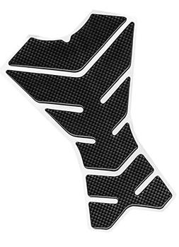 Motorcycle Parts Black Carbon Fiber Resin Protector Sticker