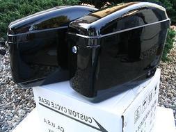 New Hard Saddle bags Saddlebags w/ mounting kits Fit Honda S