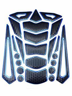 Niree Motorcycle Tank Gas Metallic Luster Protector Pad Stic